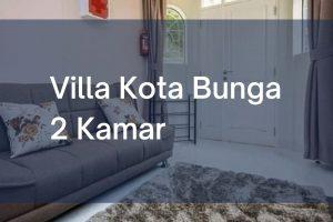 Villa Kota Bunga Cipanas Puncak 2 Kamar
