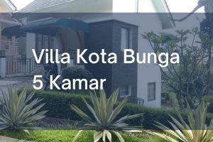 Villa Kota Bunga 5 Kamar Tidur