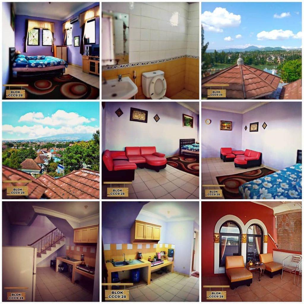 Villa 1 Kamar Tidur Kota BUnga