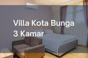 Villa Kota Bunga Cipanas Puncak 3 Kamar Tidur