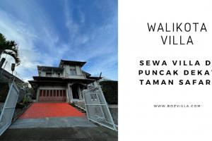 Walikota Villa, Villa di Puncak Dengan 5 Bedrooms, Dan Kolam Renang Pribadi